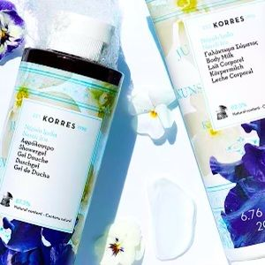 NEW Korres Neroli Iris luxurious Shower gel wash